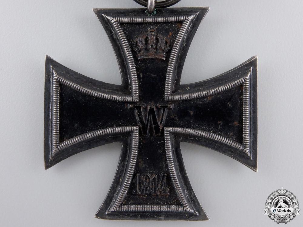 An Iron Cross Second Class 1914; Marked