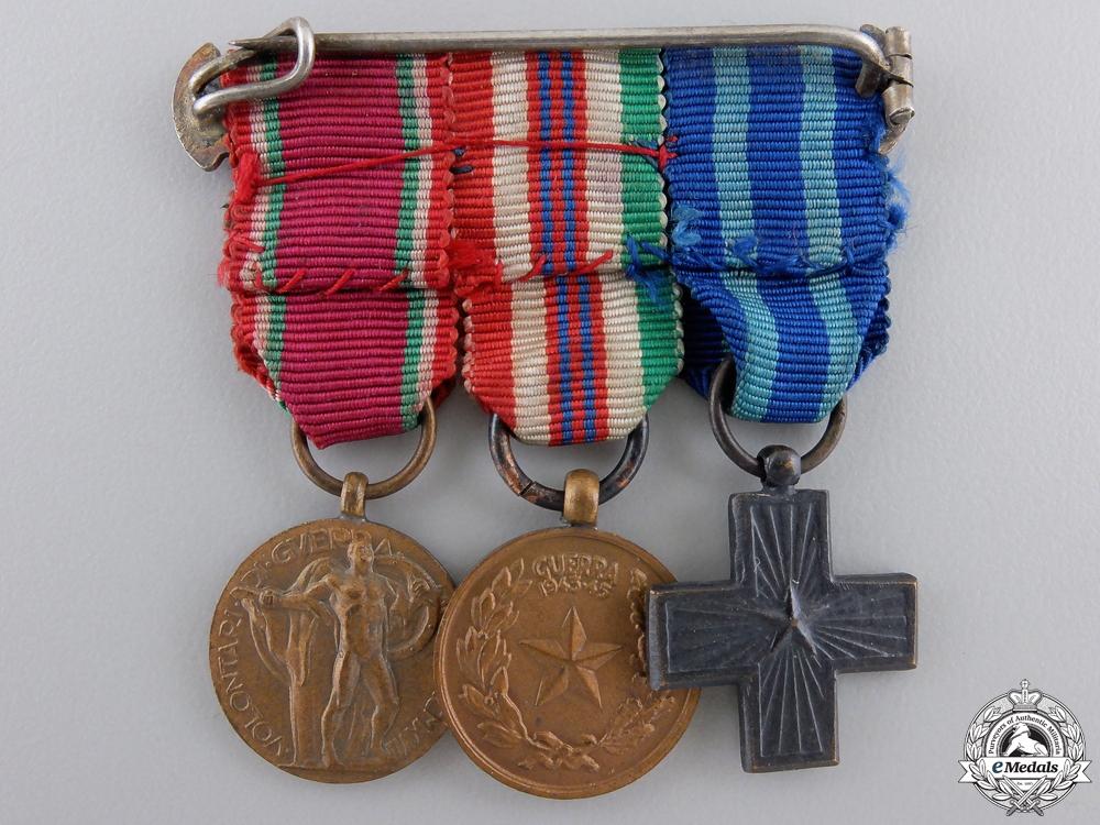 A Second War Italian Miniature Group
