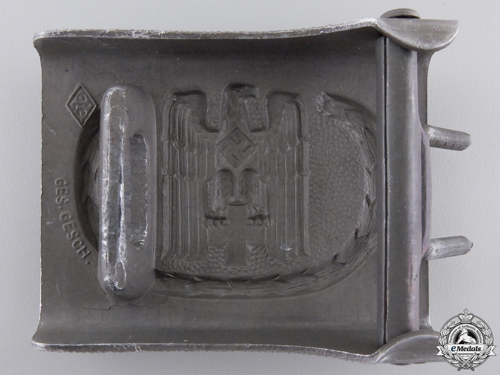 A Red Cross Enlisted Belt Buckle by JFS Ges. Gesch