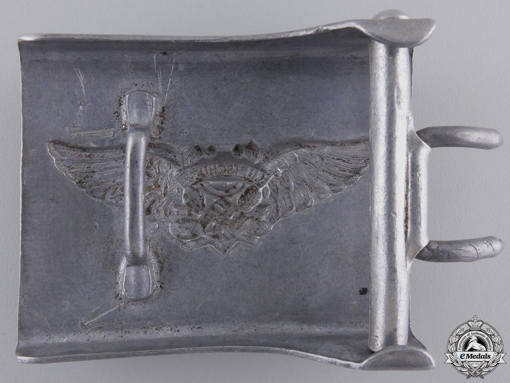 An Enlisted Man's RLB/Luftschutz Belt Buckle; 2nd Pattern