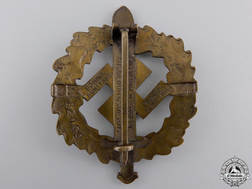 A Bronze Grade Sports Badge by Bonner Kunstabz
