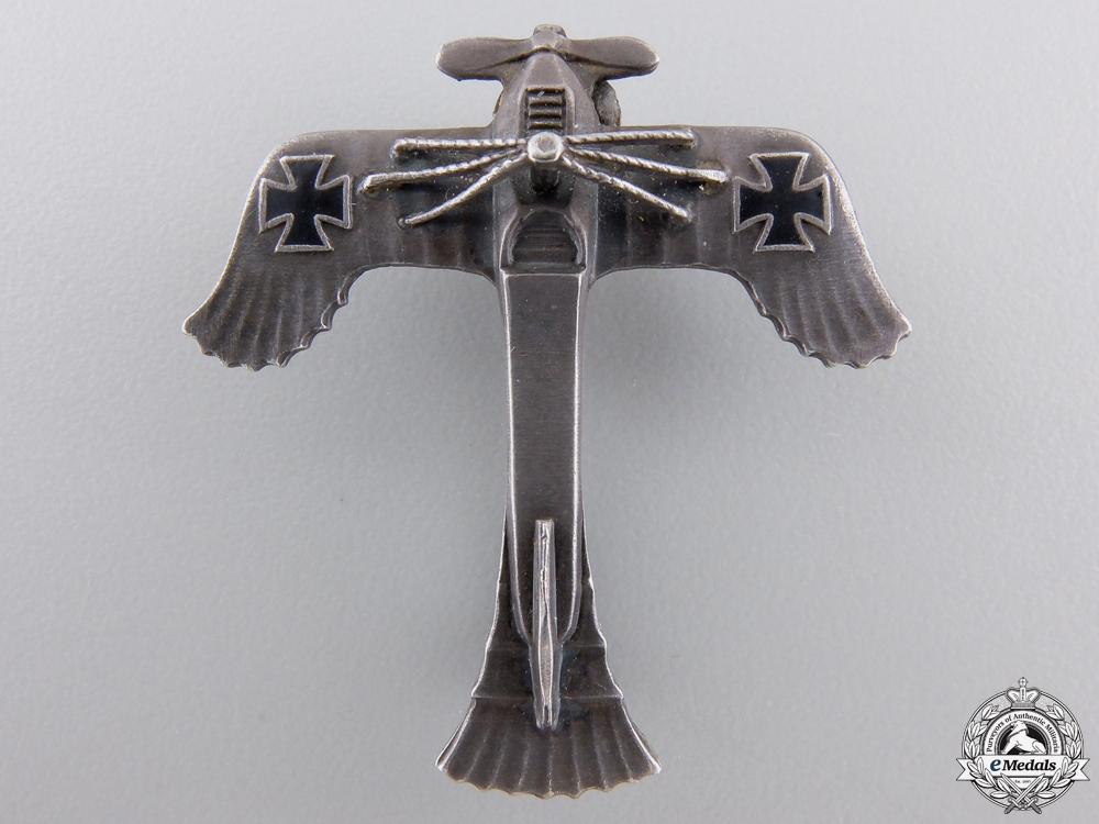 A First War German Empire Aviation Pin