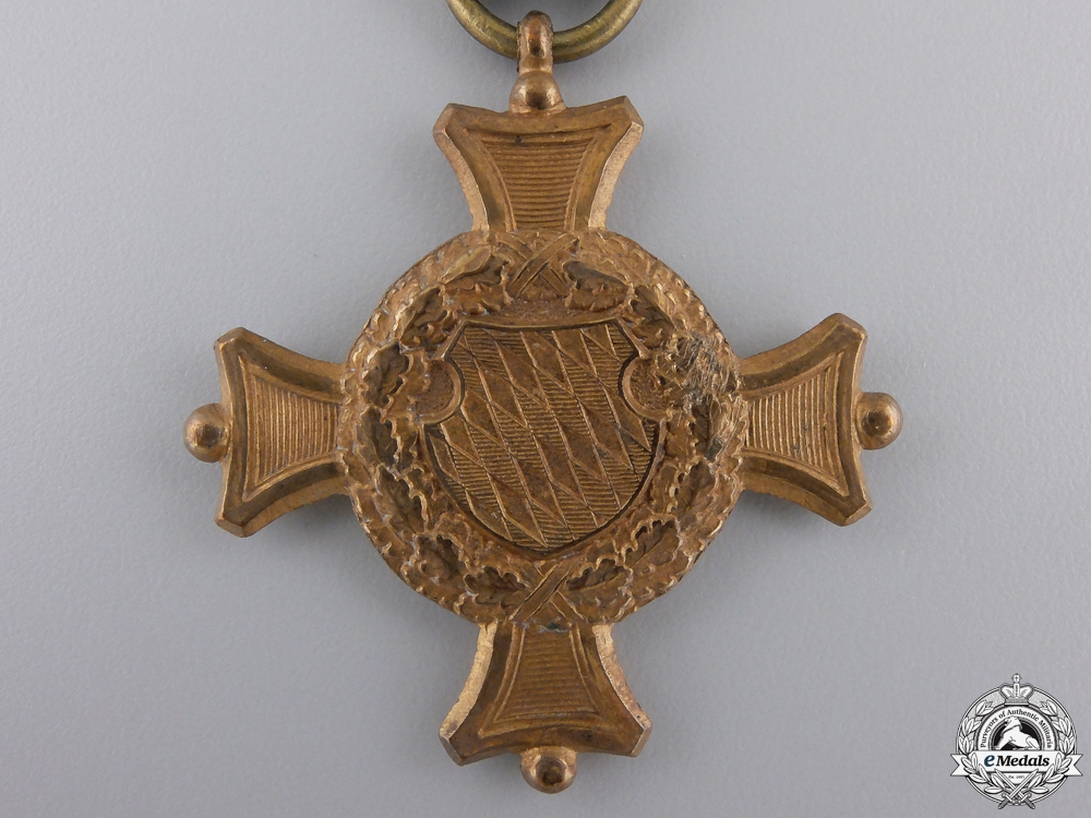 A 1906 Bavarian 24 Year Long Service Cross