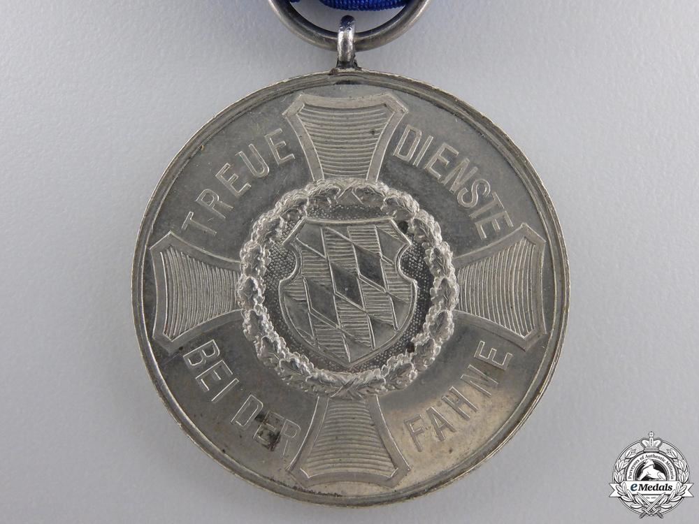 A Bavarian Army Long Service Medal; Nine Years