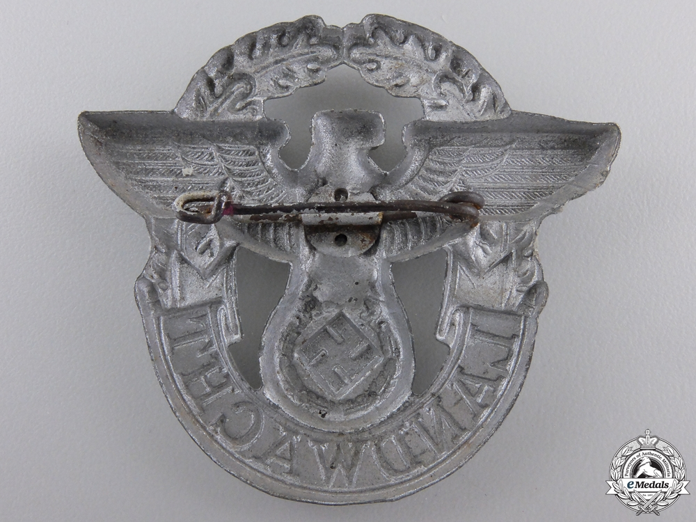 A Landwacht Police Badge