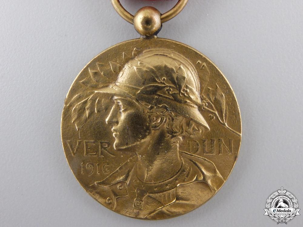 A First War French Verdun Medal