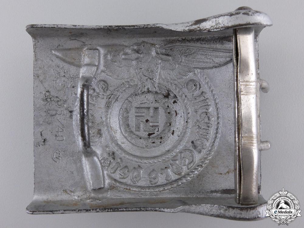 An SS EM/NCO'S Belt Buckle by Assmann 1940; Type 1