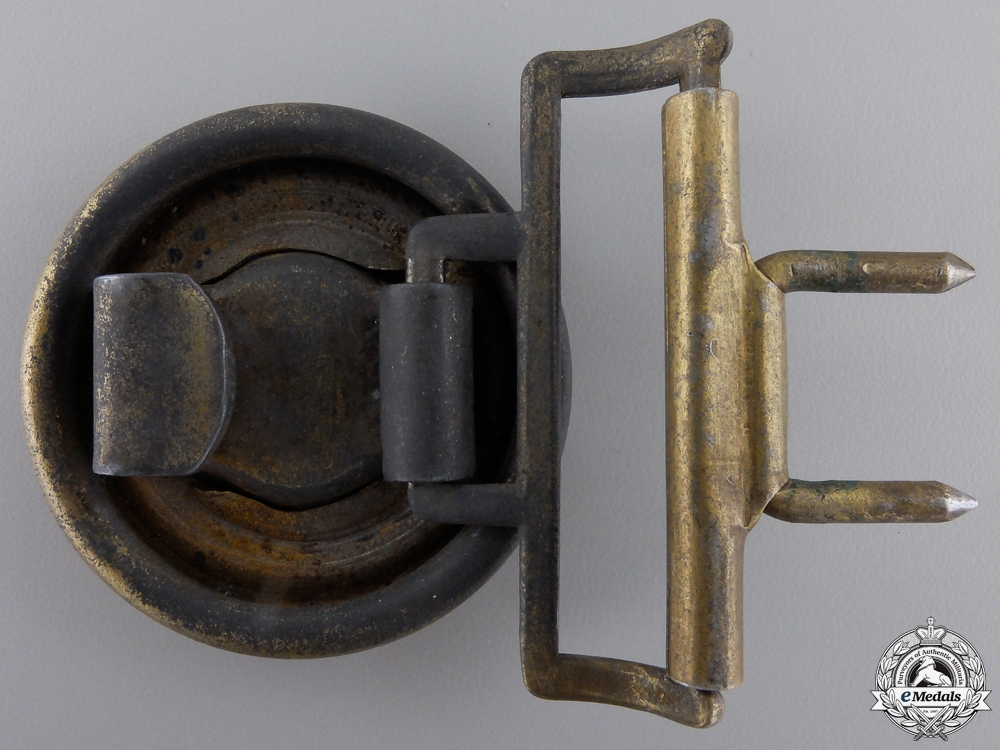 A German Railway Official's Belt Buckle