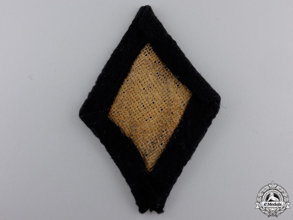 An SS Second Class Marksman's Sleeve Badge