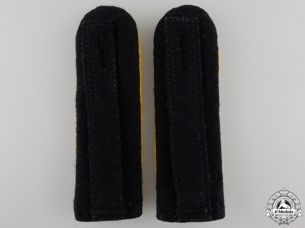 A Pair of SS Cavalry Sturmführer's  Shoulder Boards