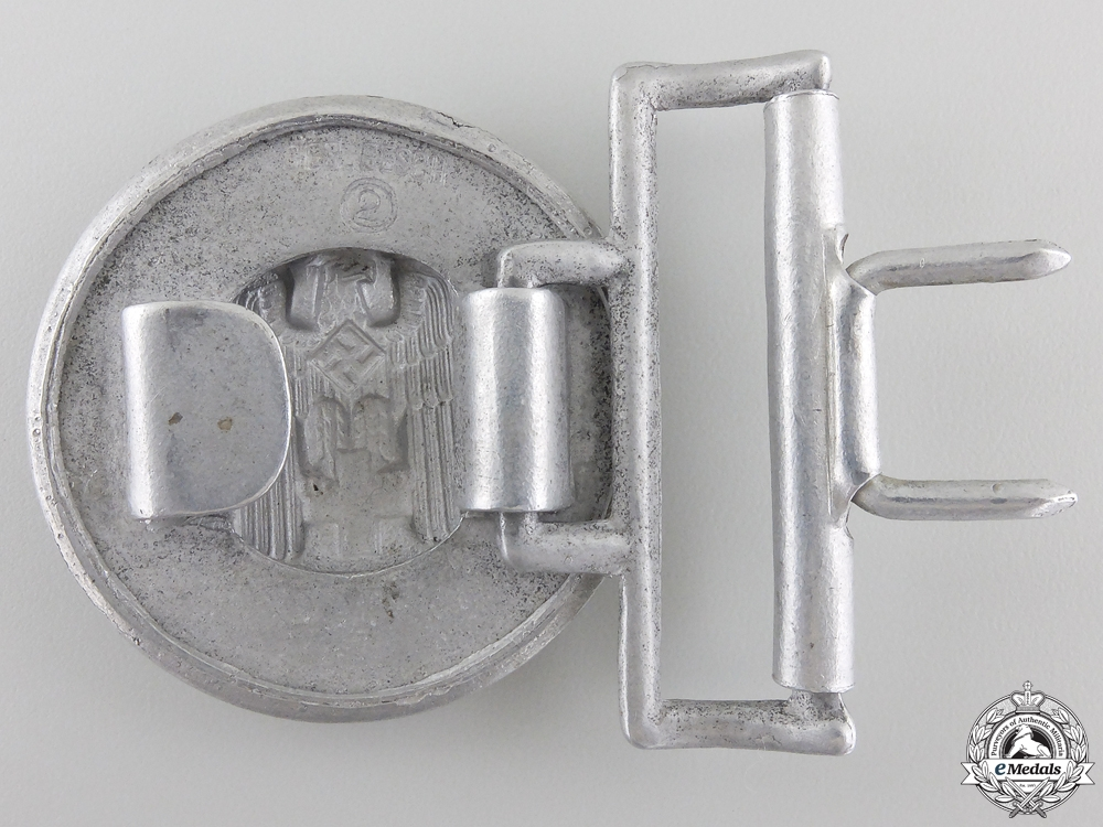 A German Red Cross Officer's Belt Buckle