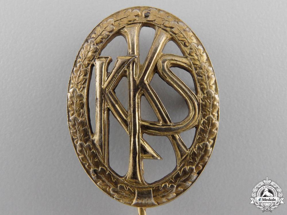 A German Shooting Association (KKS) Stickpin 1930's