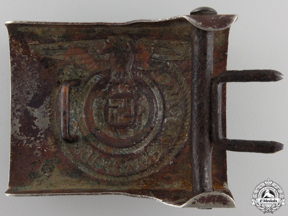 An SS Belt Buckle by Overhoff & Cie, Ludenscheid