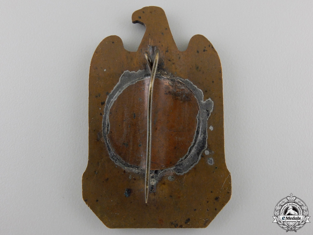 A 1933 NSDAP Nuremberg Reich Party Day Badge
