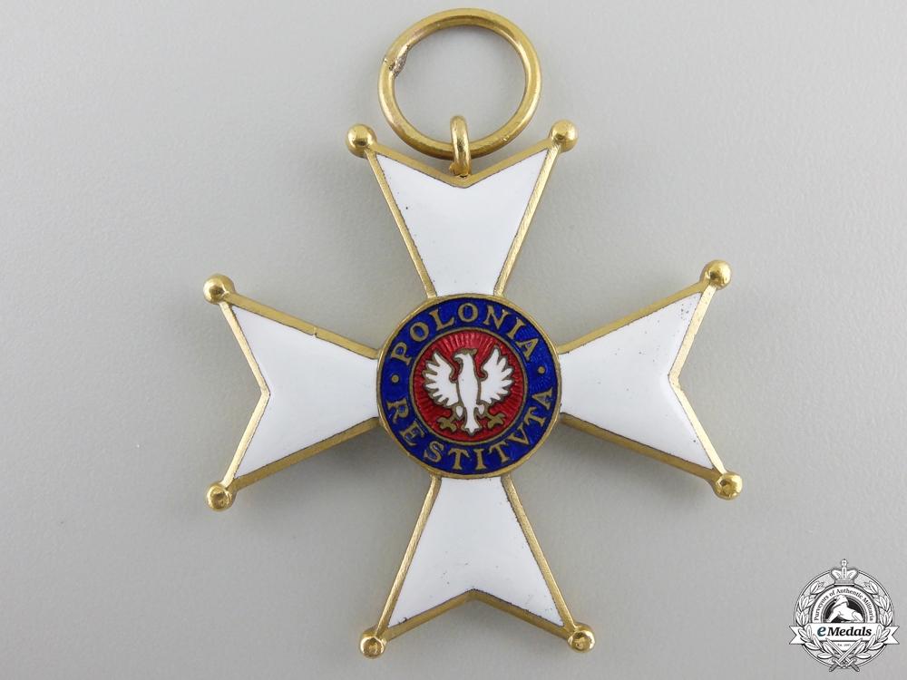 An Order of Polonia Restituta, 5th Class Knight 1944
