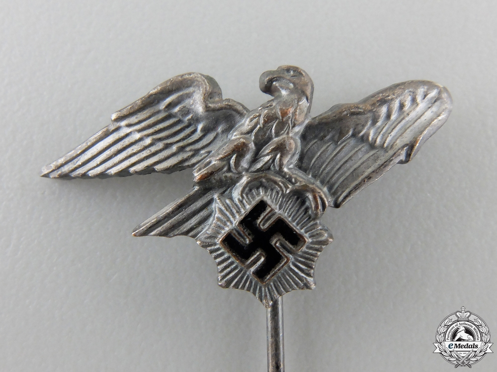 An SS Air Raid Protection Police 1st Type Stickpin