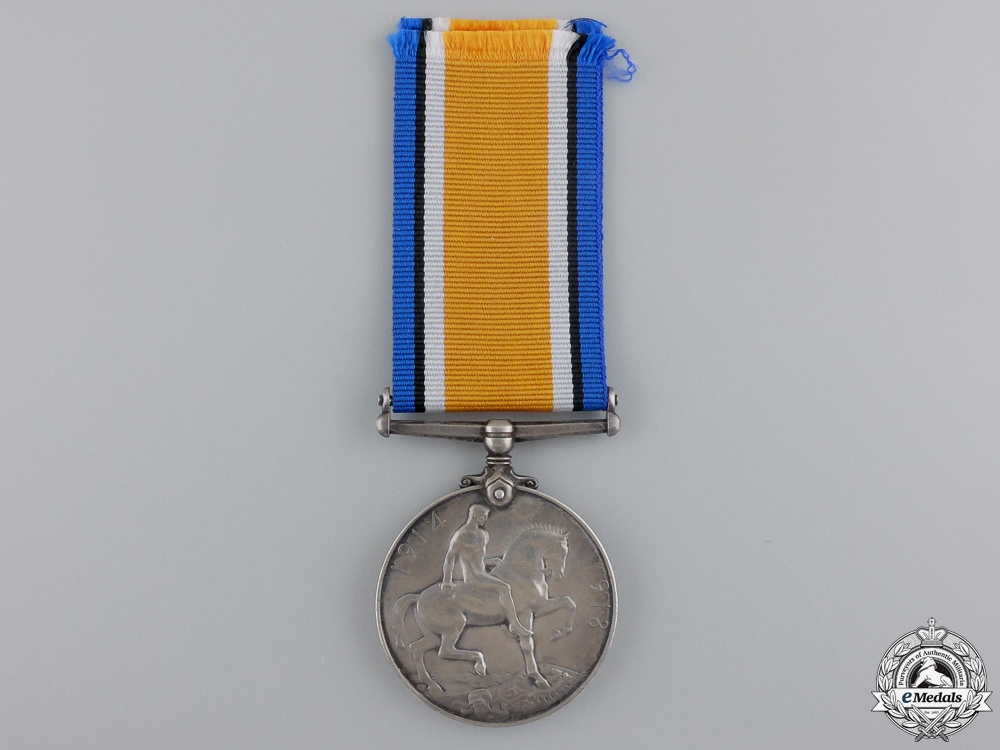 A British War Medal to a Royal Flying Corps Causality