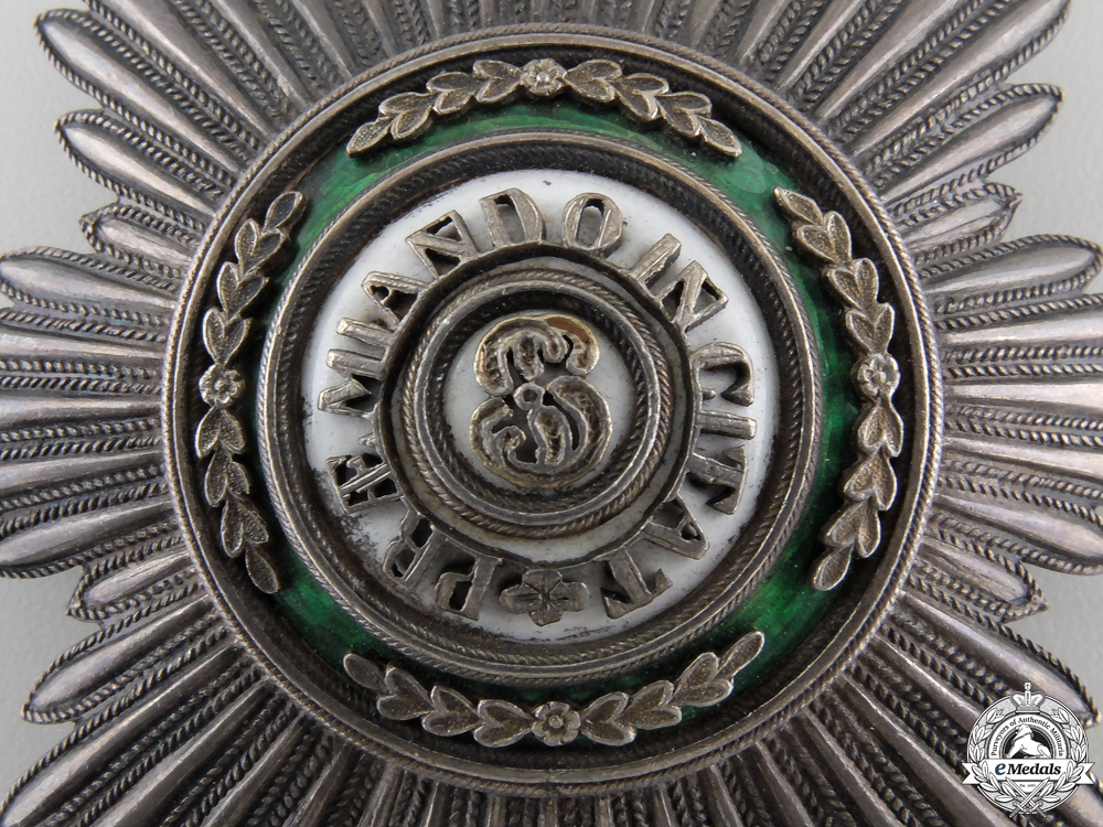 A Russian Imperial Order of St. Stanislaus Breast Star by Keibel