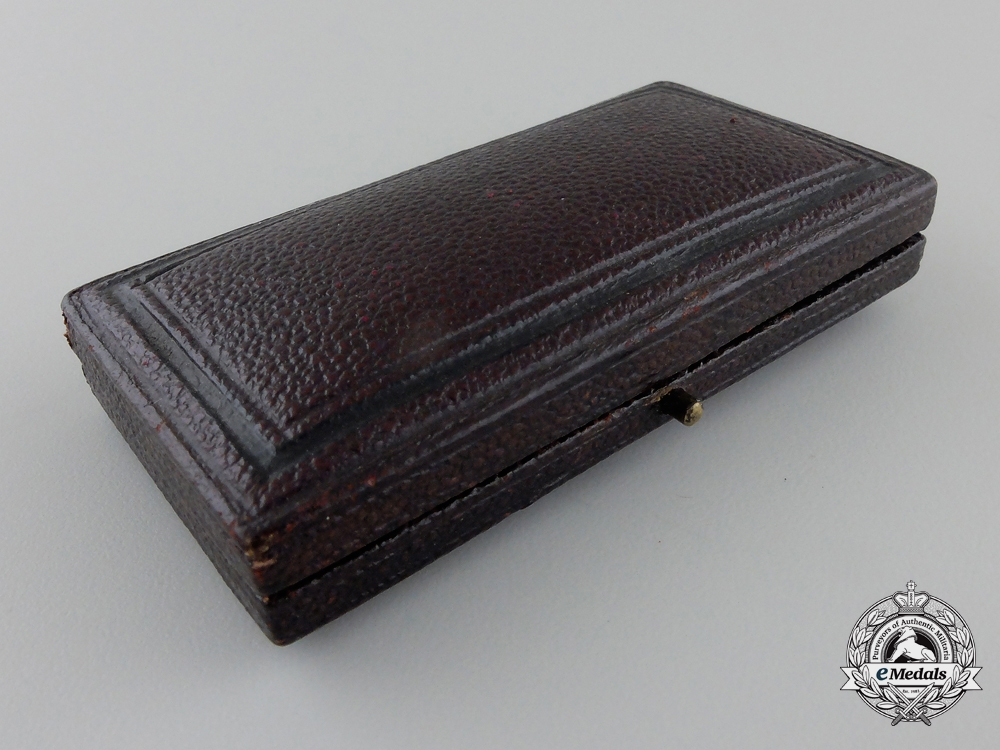 A Miniature Royal Victorian Order with Collingwood & Co. Case