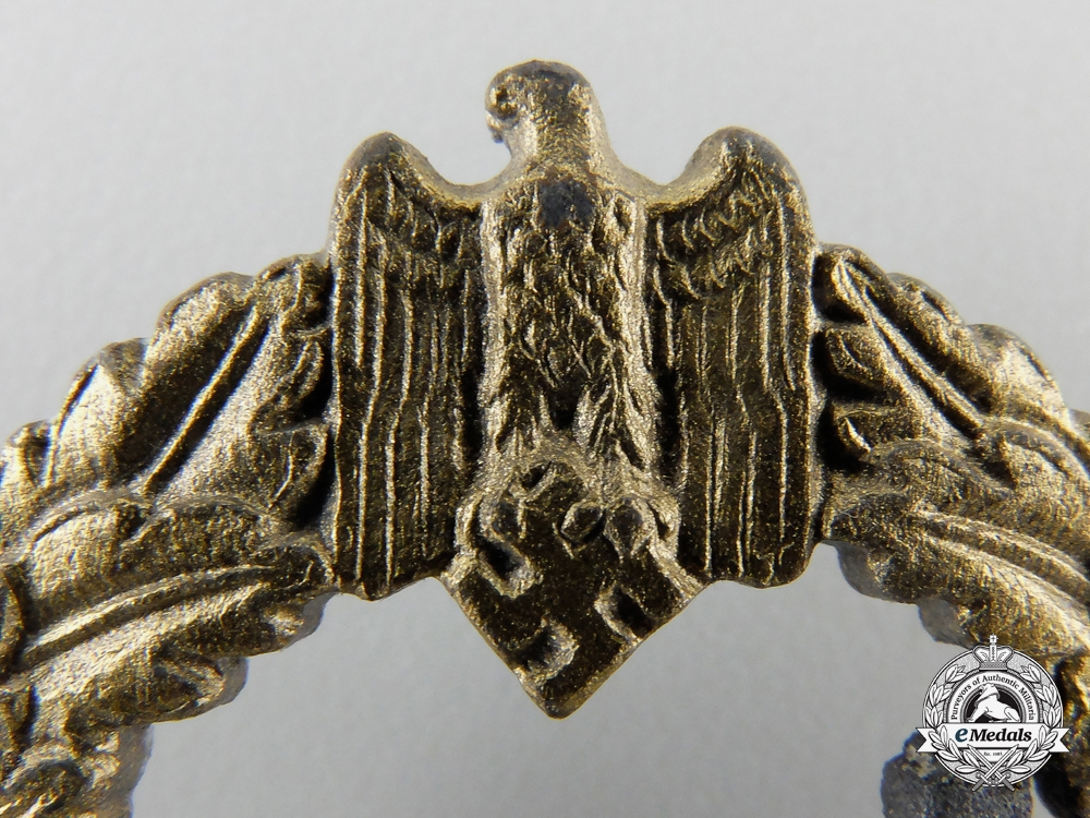 A Kriegsmarine Destroyer Badge by S.H.u.Co.