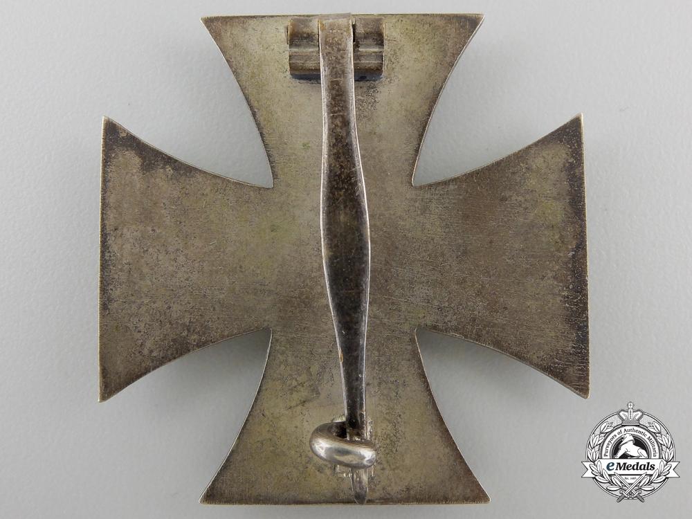 An Iron Cross First Class 1939 by Wilhelm Deumer