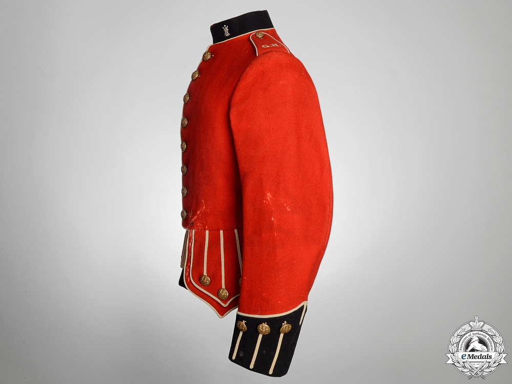 A Gordon Highlanders Colour Sergeant Major's Tunic