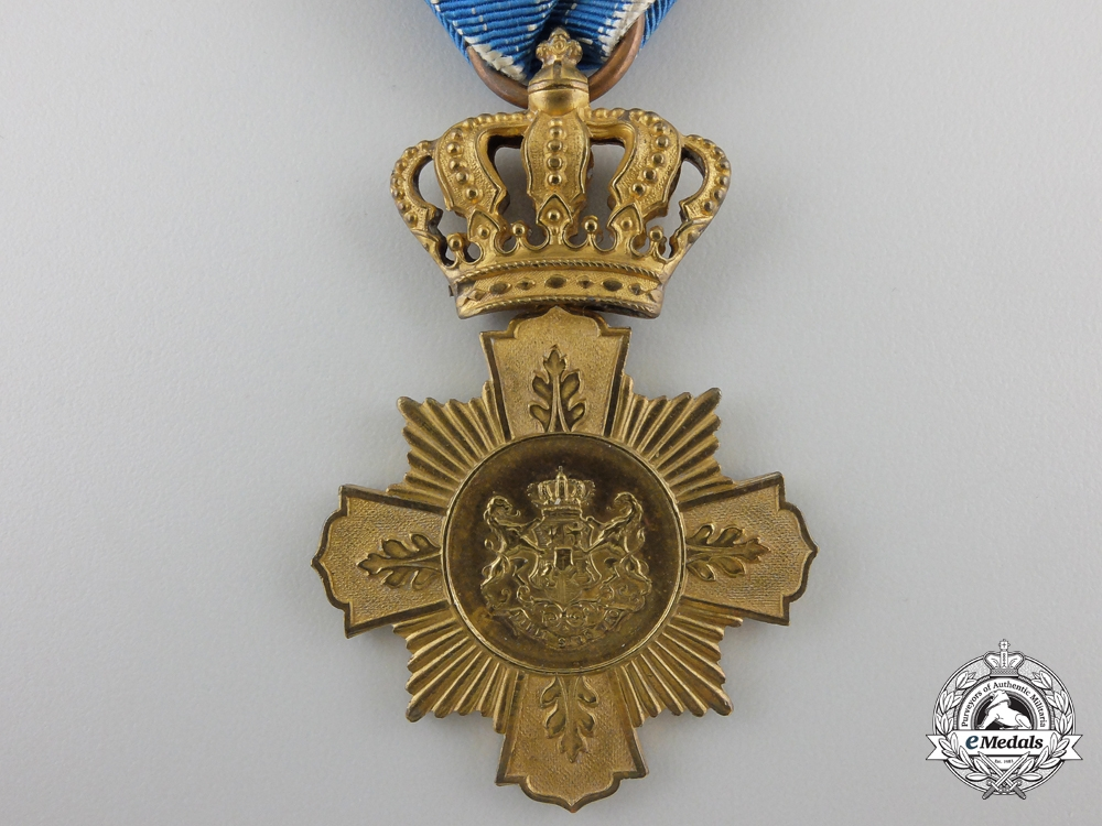 A First Class Romanian Loyal Service Cross; 1st Type