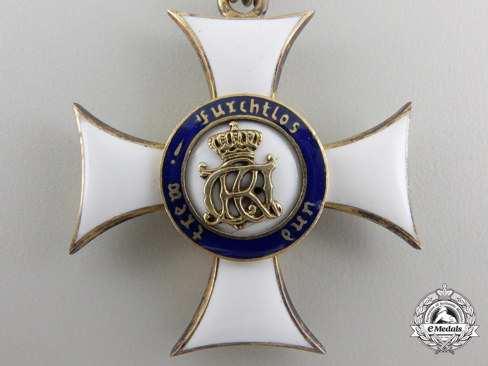 A Royal Württemberg Military Merit Order; Knight's Cross