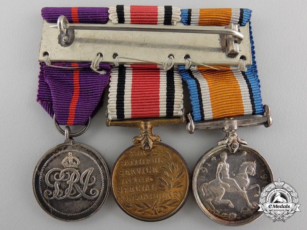 A First War British Empire Medal Miniature Group