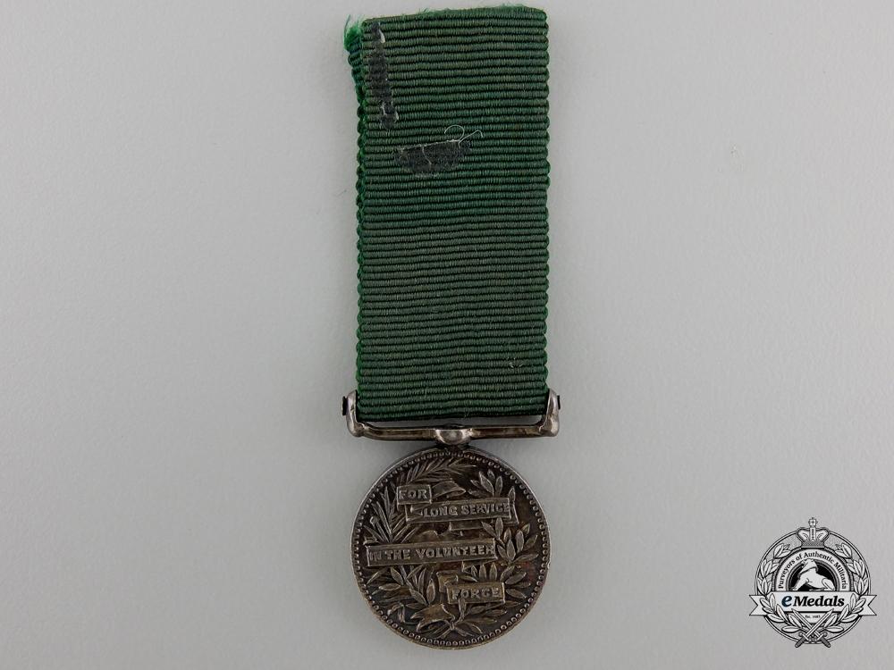 A Miniature Volunteer Long Service Medal
