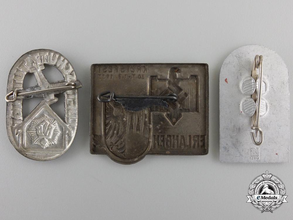 Three Second War Period German Tinnies
