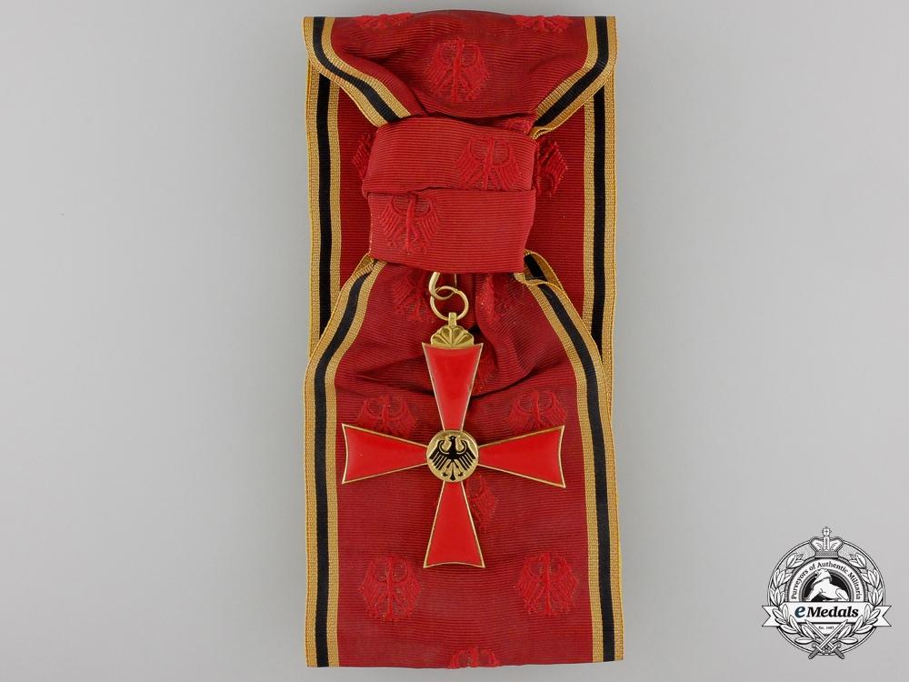 A German Federal Republic Order of Merit; 1st Class Grand Cross