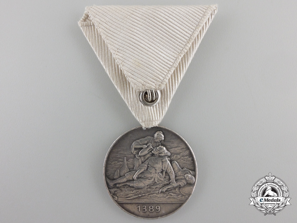 A 1912-13 Serbian Red Cross Medal
