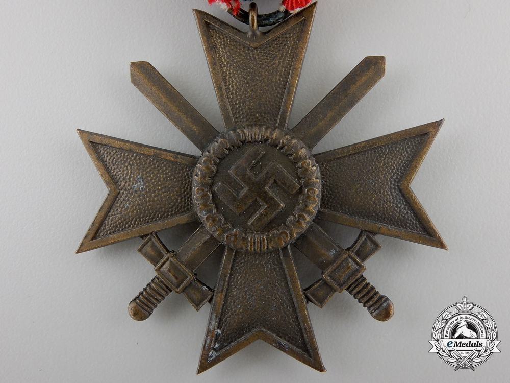 A Second Class War Cross with Swords