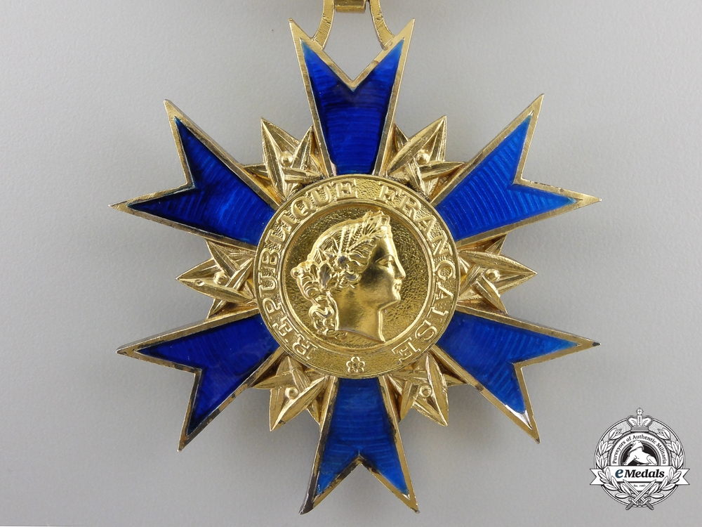 A French National Order of Merit; Commander