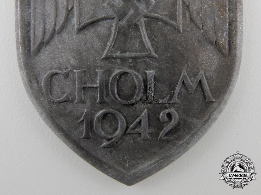 A Scarce Cholm Campaign Shield