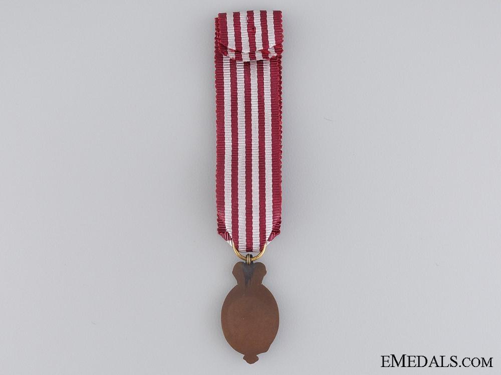A Miniature Albert Medal; 1st Class Land Service