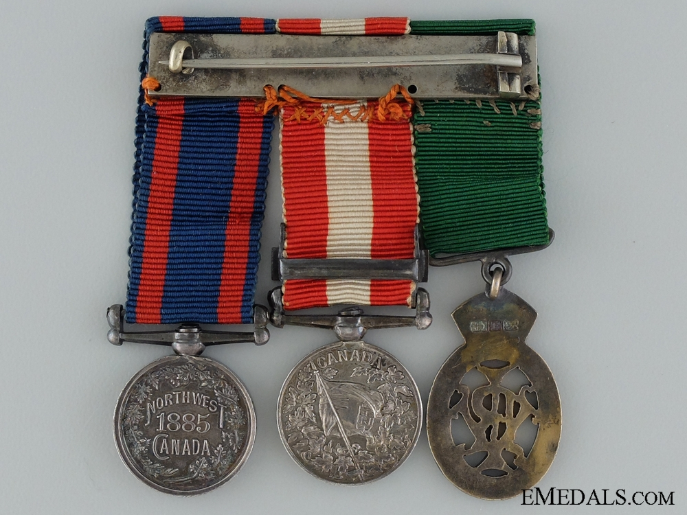 Victorian Era Miniatures TO Lieut.-Colonel J.M. Delamere
