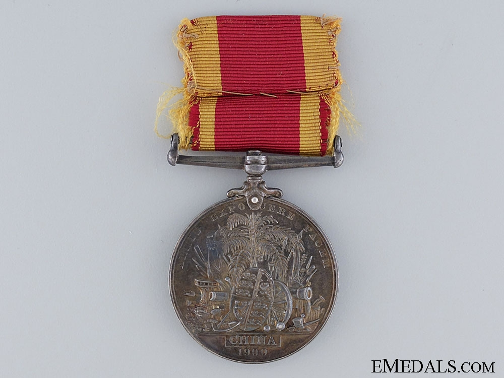 A 1900 China War Medal to the Shanghai Volunteers
