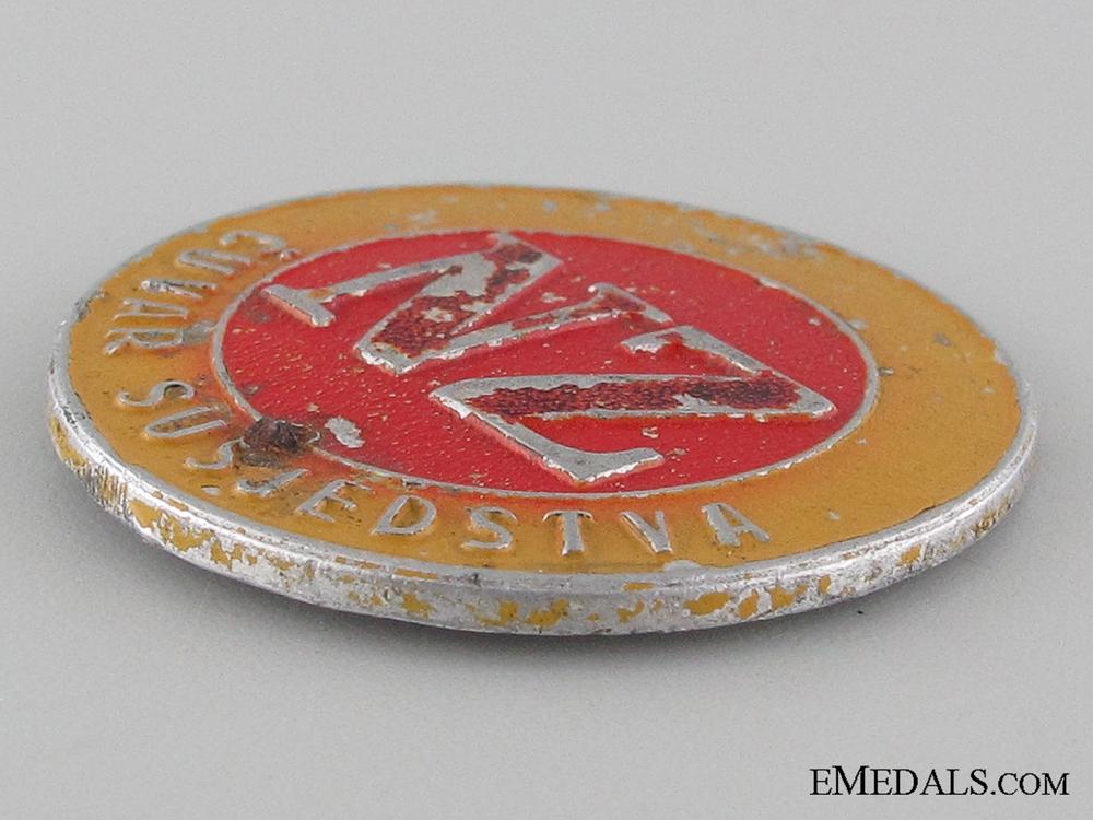 WWII Civil Defense Badge