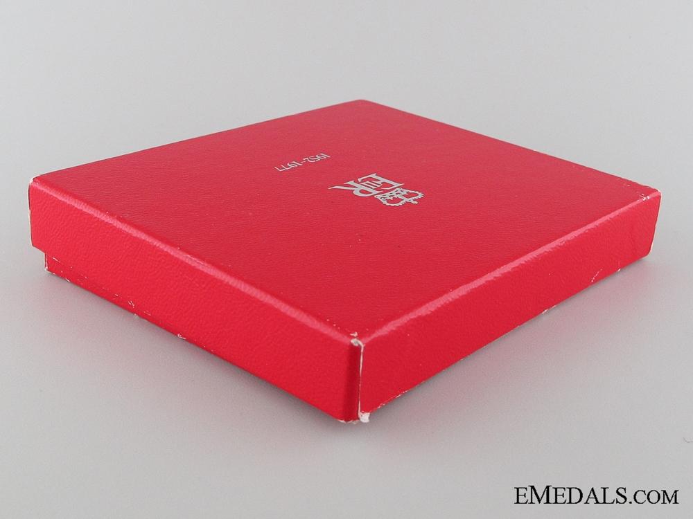 Queen Elizabeth II Silver Jubilee Medal 1952-1977, Boxed