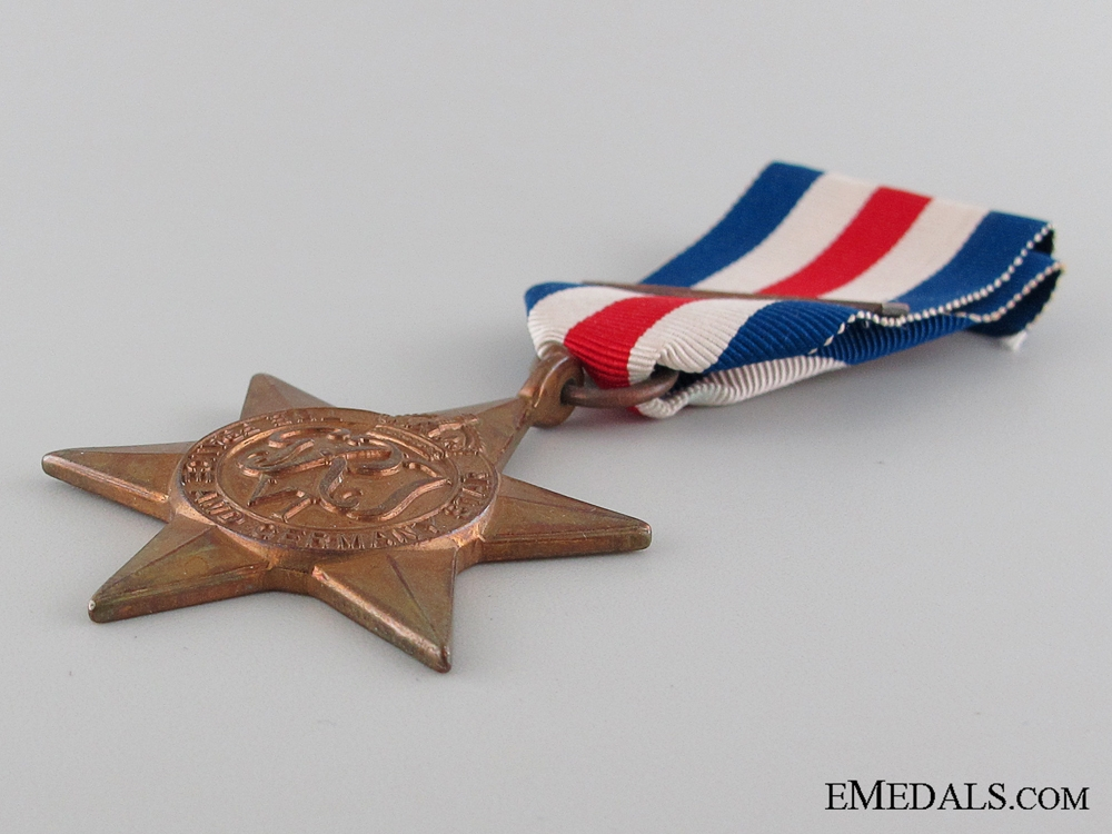 WWII France and Germany Star