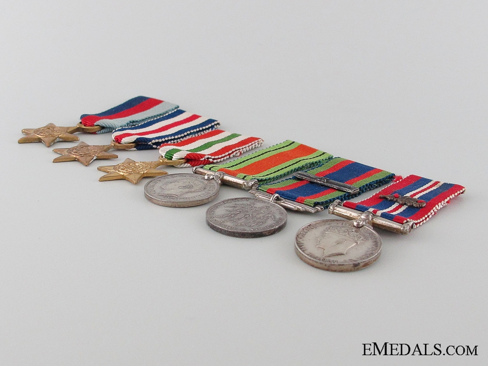 WWII Miniature Group of Five