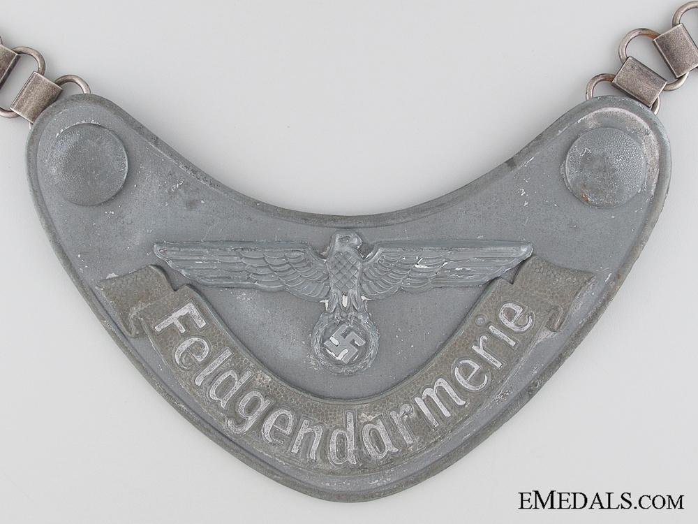 Feldgendarmerie (Army Military Field Police) Gorget