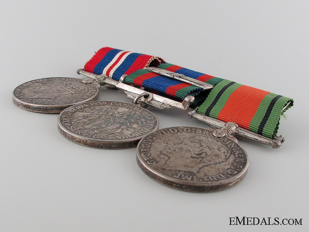 WWII Canadian Group of Three