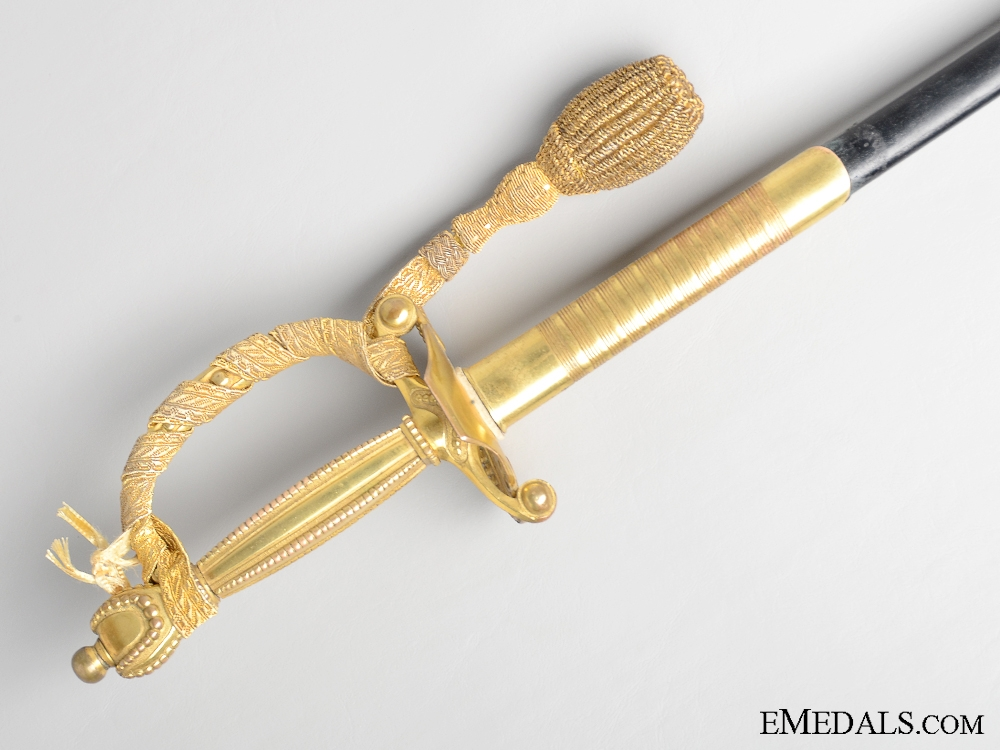 A Victorian British Diplomatic Court Sword
