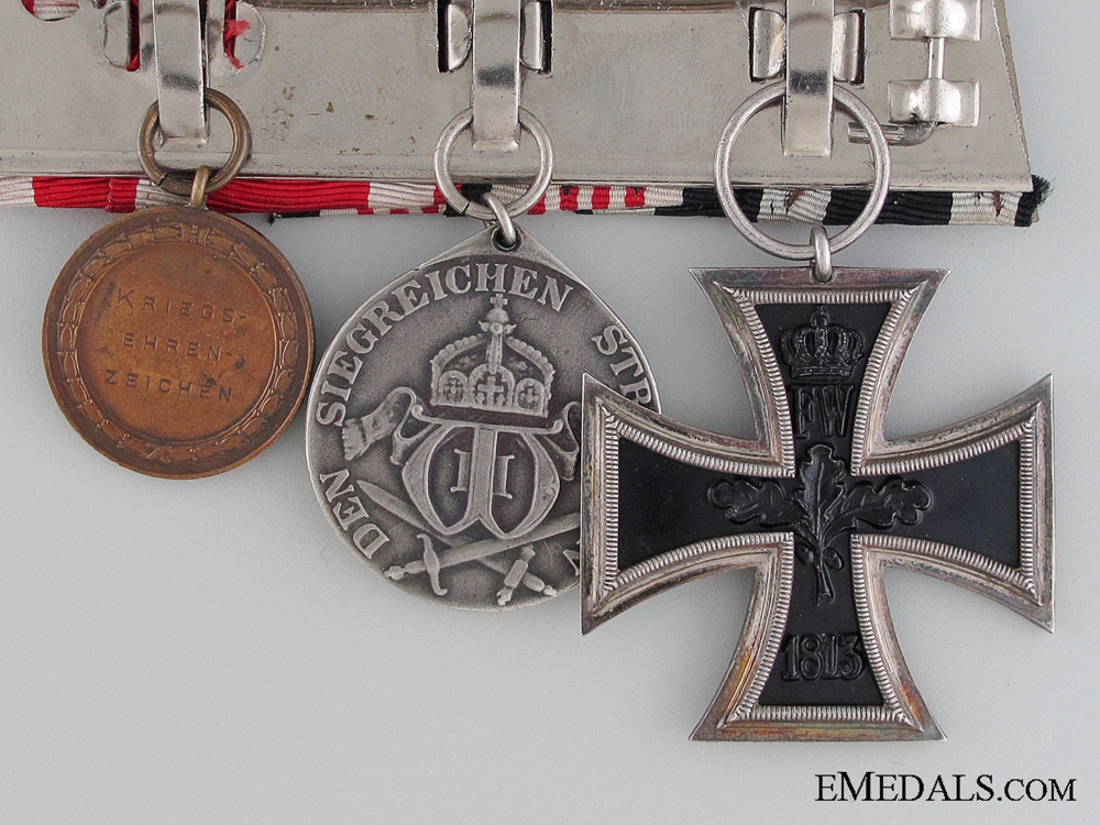 A German Imperial Medal Bar   Consignment