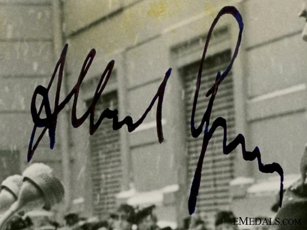 The Signature of Albert Speer