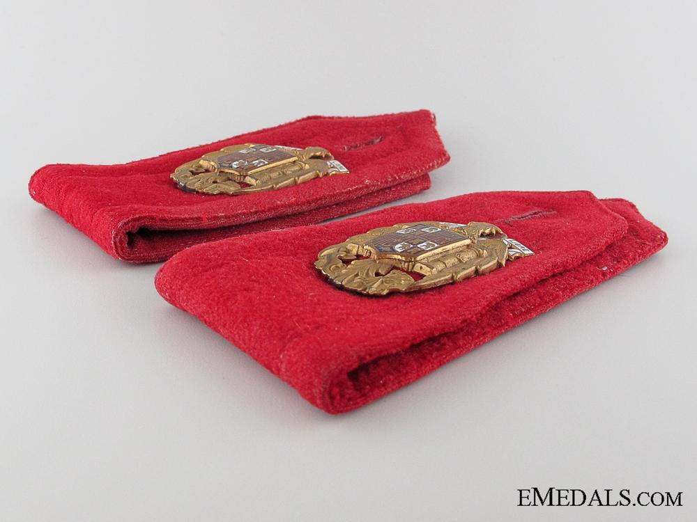 General Franco Escort Regiment S. E. Shoulder Strap Pair