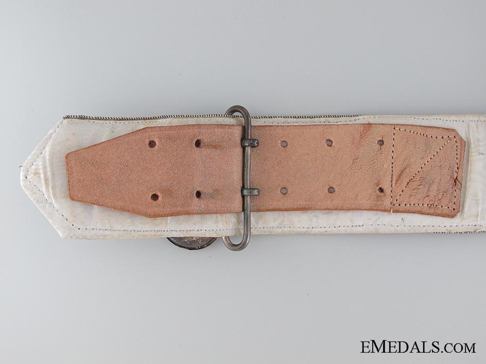Formal Falange Belt with Buckle